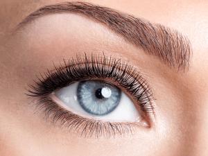 blues eyes more sensitive