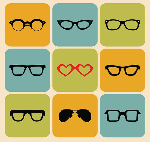 eyeglass styles feature