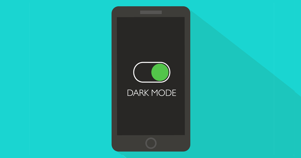 Dark Mode and Your Eyes